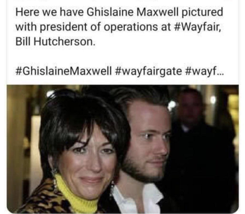 Ghislaine Maxwell with Bill Hutcherson