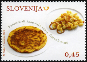 Slovenia stamps GASTRO-2009-2