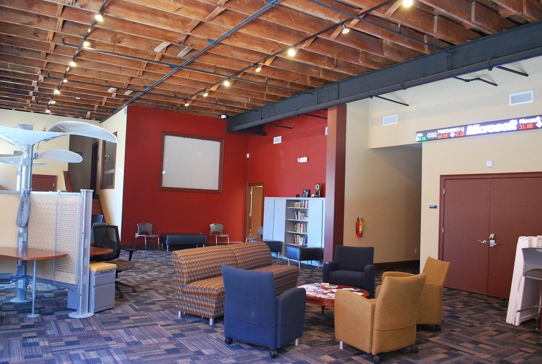 City Campus lobby