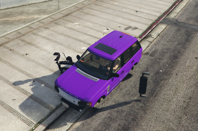 whole car in game