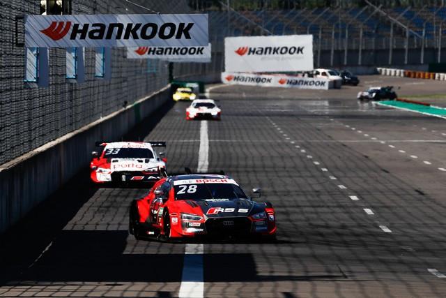 DTM – René Rast remporte le podium Audi au Lausitzring A204762-medium