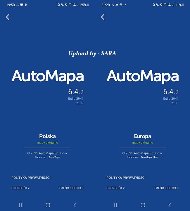 AutoMapa v6.4.2 ( 3941 ) Mod Extra / Android