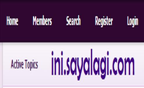 link menu navigasi header