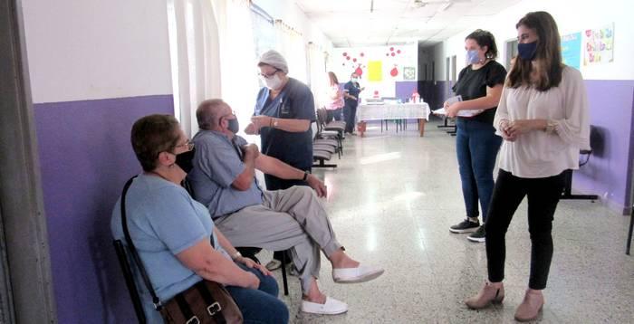 VILLAGUAY: 6000 adultos ya fueron vacunados contra en Coronavirus