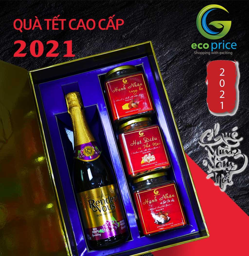 Hộp Tết 2021 Hộp Đỏ – 04