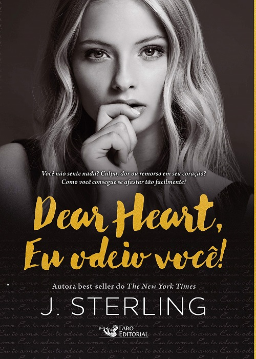 Resenha #334 Dear Heart, Eu odeio você! – J. Sterling @FaroEditorial