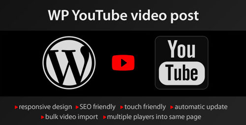 WP Youtube Video Post