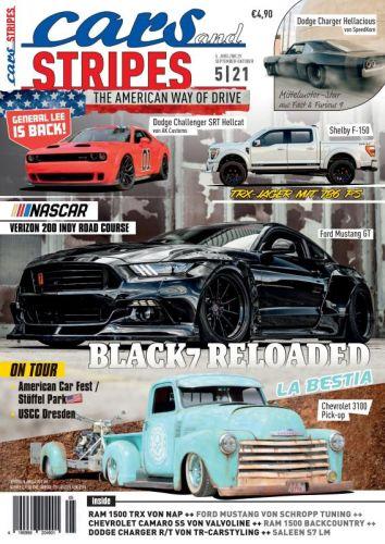 Cover: Cars and Stripes Magazin Germany September-Oktober No 05 2021