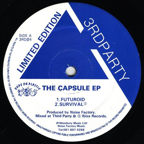 Noise Factory - The Capsule EP 1992
