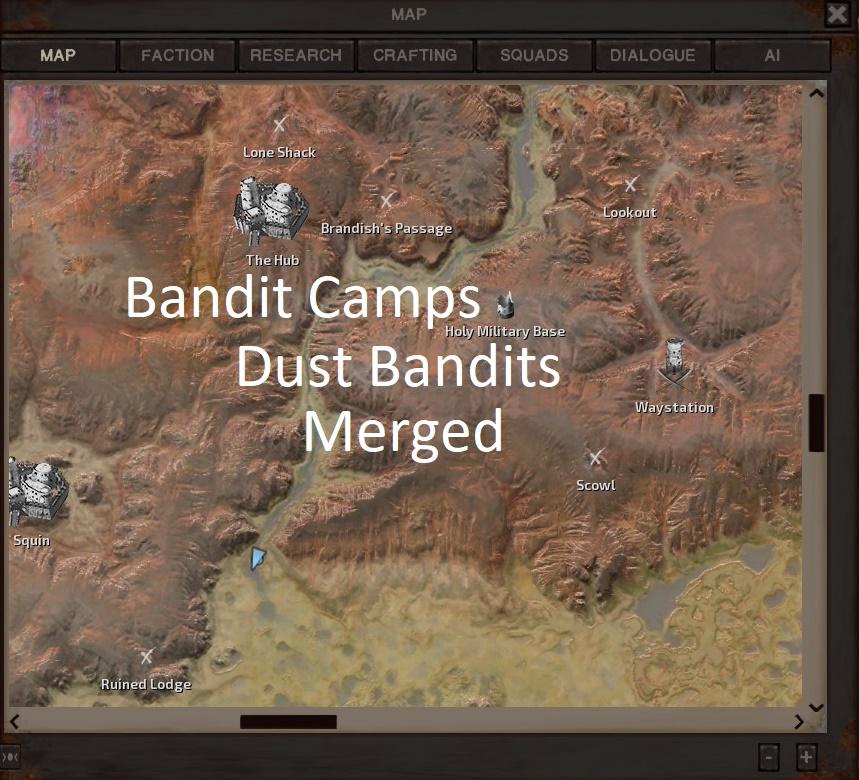 Bandit Camps: Dust Bandits MERGED / Бандитские лагеря: Пыльные бандиты слиты!