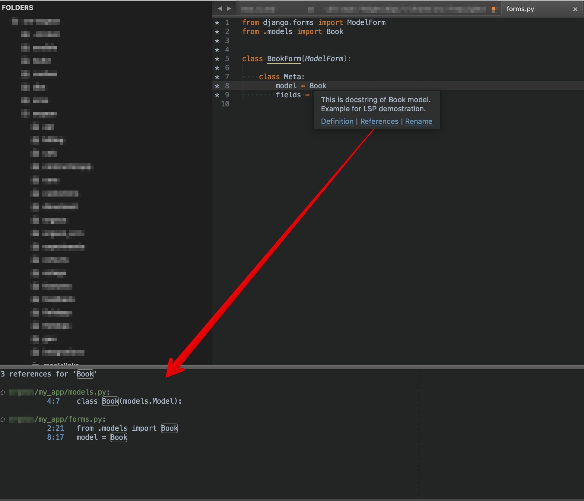 Sublime Text and Language Server Protocol (LSP): References