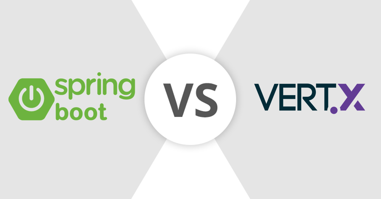 Comparison between Spring Boot and Vertx
