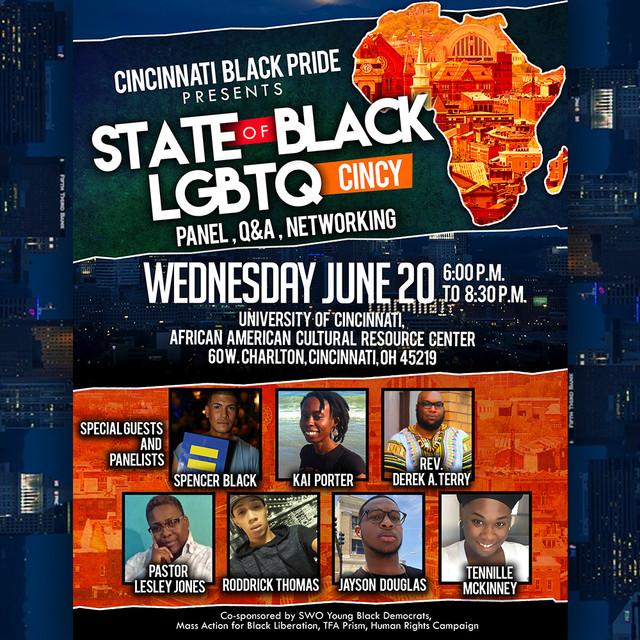 Social Media State of Black Cincy Community Forum Flyer