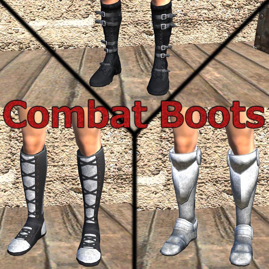 Combat Boots / Боевые сапоги! (RU)