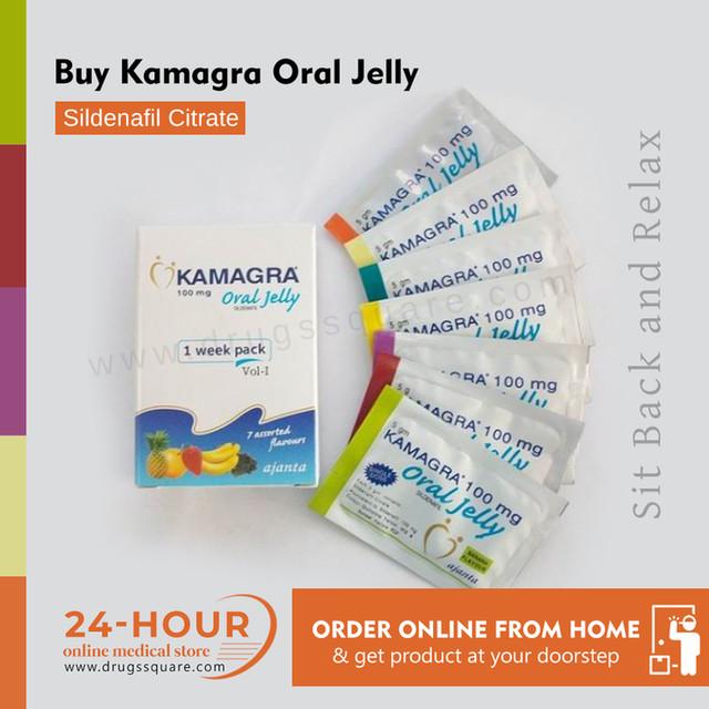 Kamagra 100mg Oral Jelly Price (силденафила цитрат) - универсальный препарат ED Купить онлайн из Индии