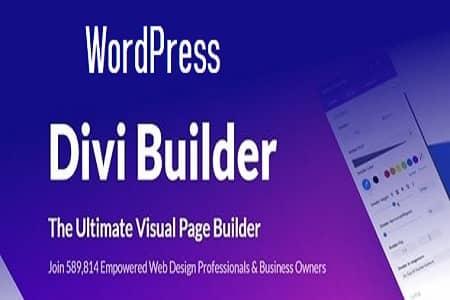 Divi Builder Plugin WordPress