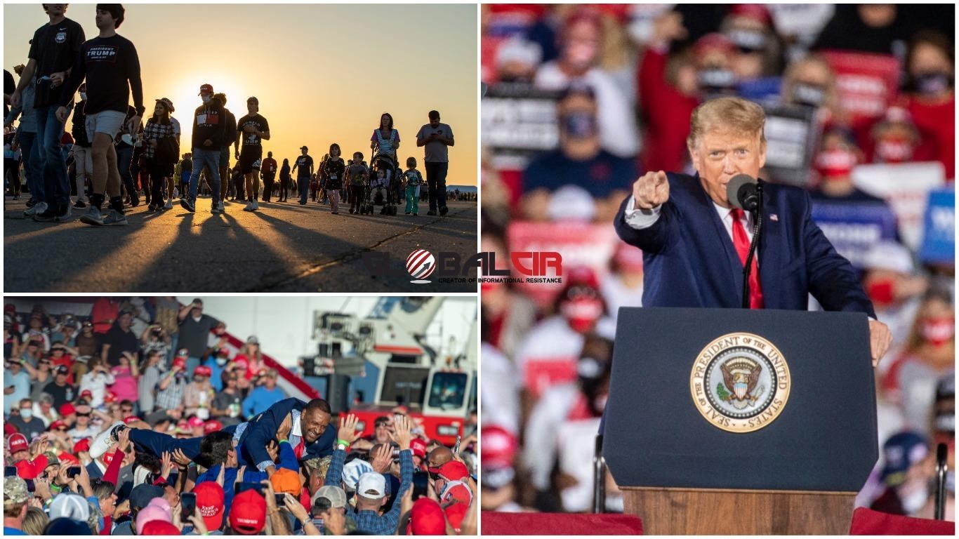 IDEMO PUNOM BRZINOM NAPRIJED! Predsjednik Tramp: Nikada nećemo priznati lažne glasačke listiće i 'Dominion'