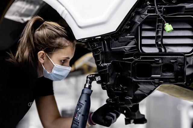 L'Audi e-tron GT entre en production : la production neutre en carbone commence à l'usine de Böllinger Höfe A206054-medium