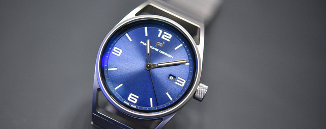 Porsche Design 1919 Datetimer Eternity All Titanium Blue Baselworld 2017 2 1500x592