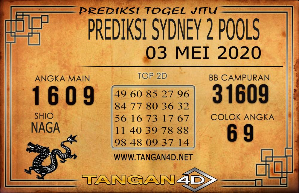 PREDIKSI TOGEL SYDNEY 2 TANGAN4D 03 MEI 2020