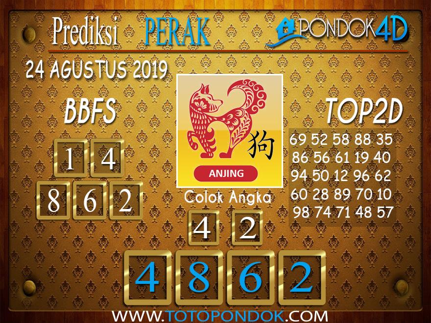 Prediksi Togel PERAK POOLS PONDOK4D 24 AGUSTUS 2019
