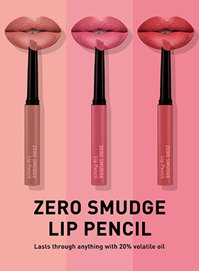 Ultra long-lasting waterproof matte lip pencil with a creamy texture suitable for lip line and full lip