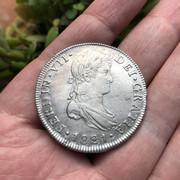 8 Reales 1821. Fernando VII. Nueva Guatemala. M -F03 IMG-7596