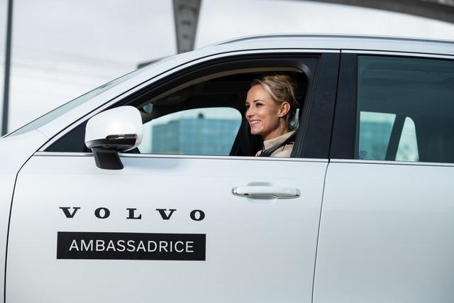 Elodie Gossuin, nouvelle ambassadrice de Volvo Car France en 2021 Elodie-Gossuin-Augustin-D-tienne-4