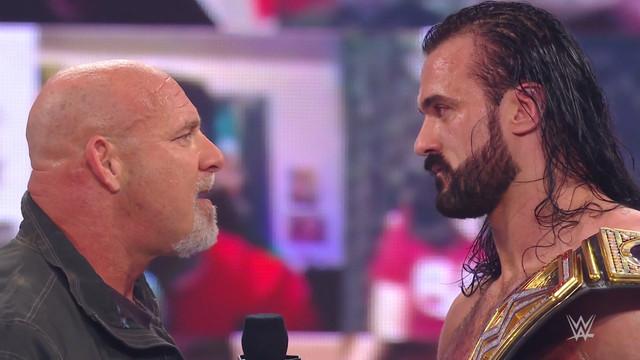 Goldberg reta a Drew McIntyre por el Campeonato de WWE en Royal Rumble