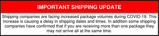 important-shipping-notice