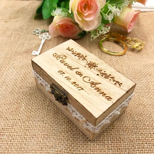 Customized Wedding Ring Box