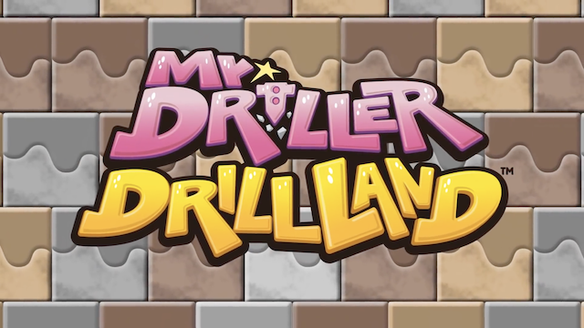 Bandai Namco Announces That MR. DRILLER DRILLLAND Is Making Its Debut In The West On The Nintendo Switch