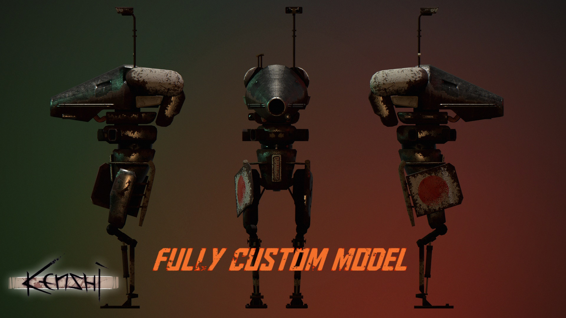 Thrashers - New 'Old Machines' Enemy Type / Молотильщики - Новый (Старые машины) тип врага (RU)