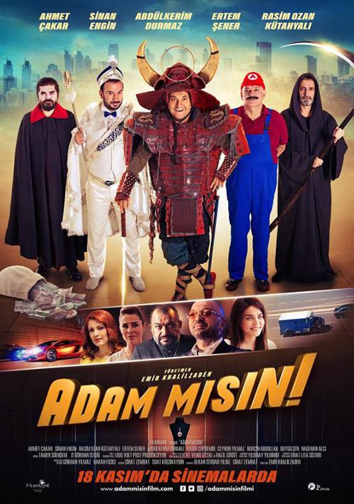 Adam Mısın | 2016 | Yerli Film | WEB-DL | XviD | Sansürsüz | 1080p - m720p - m1080p | WEB-DL | Tek Link