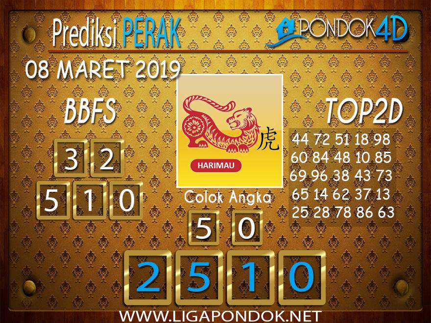 Prediksi Togel PERAK  PONDOK4D 08 MARET 2019