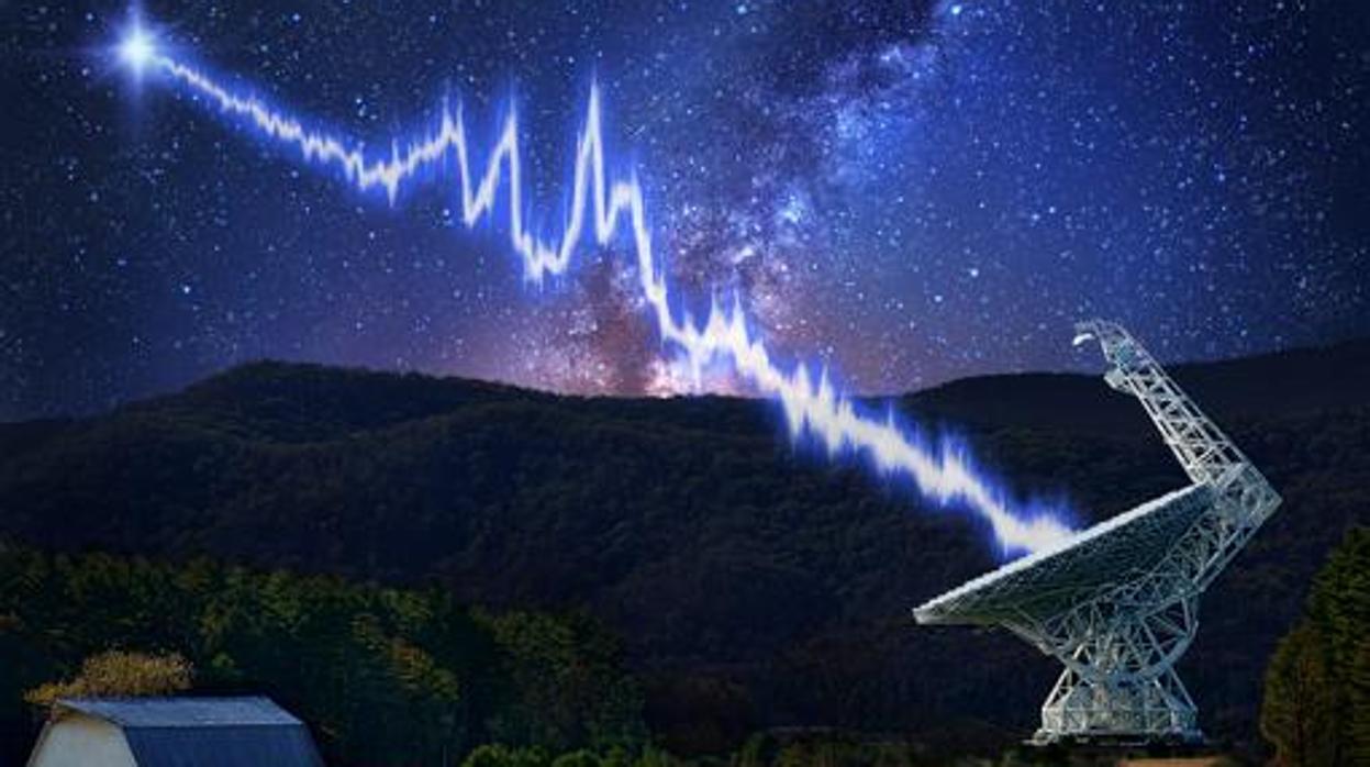 Detectan otra misteriosa señal de radio repetida llegada del espacio exterior