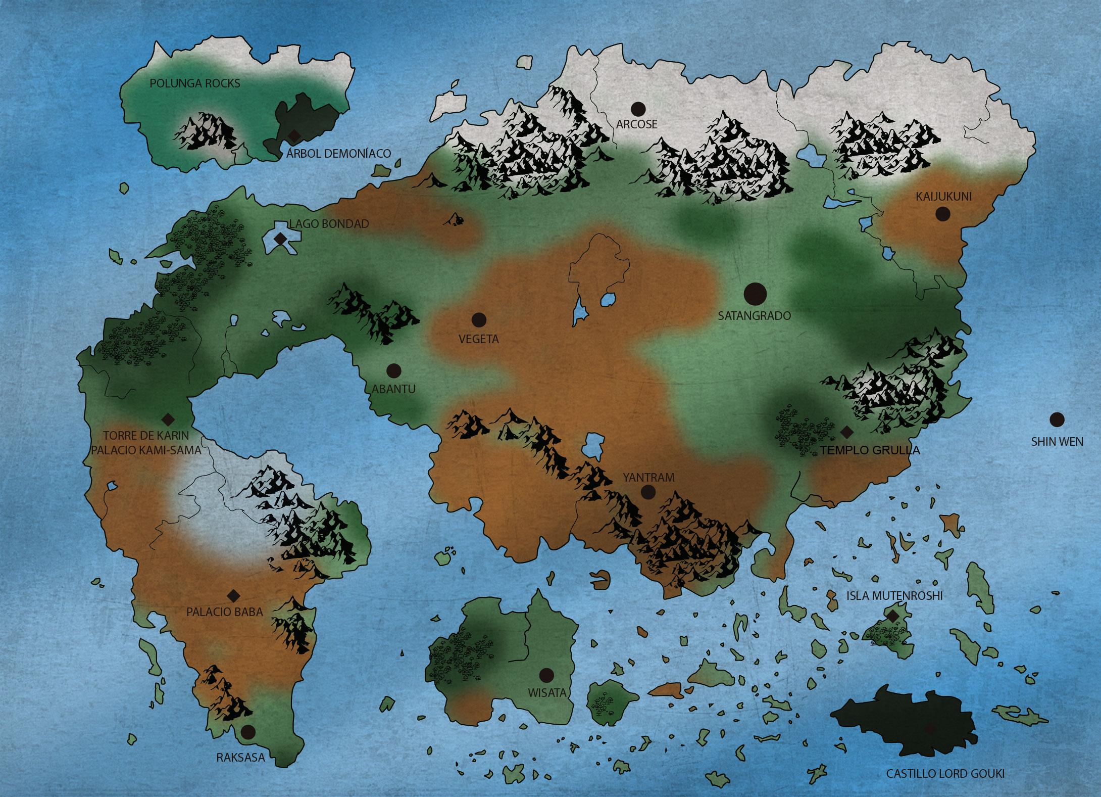 Mapa Mundi - Tierra DBR-mapa-mundi