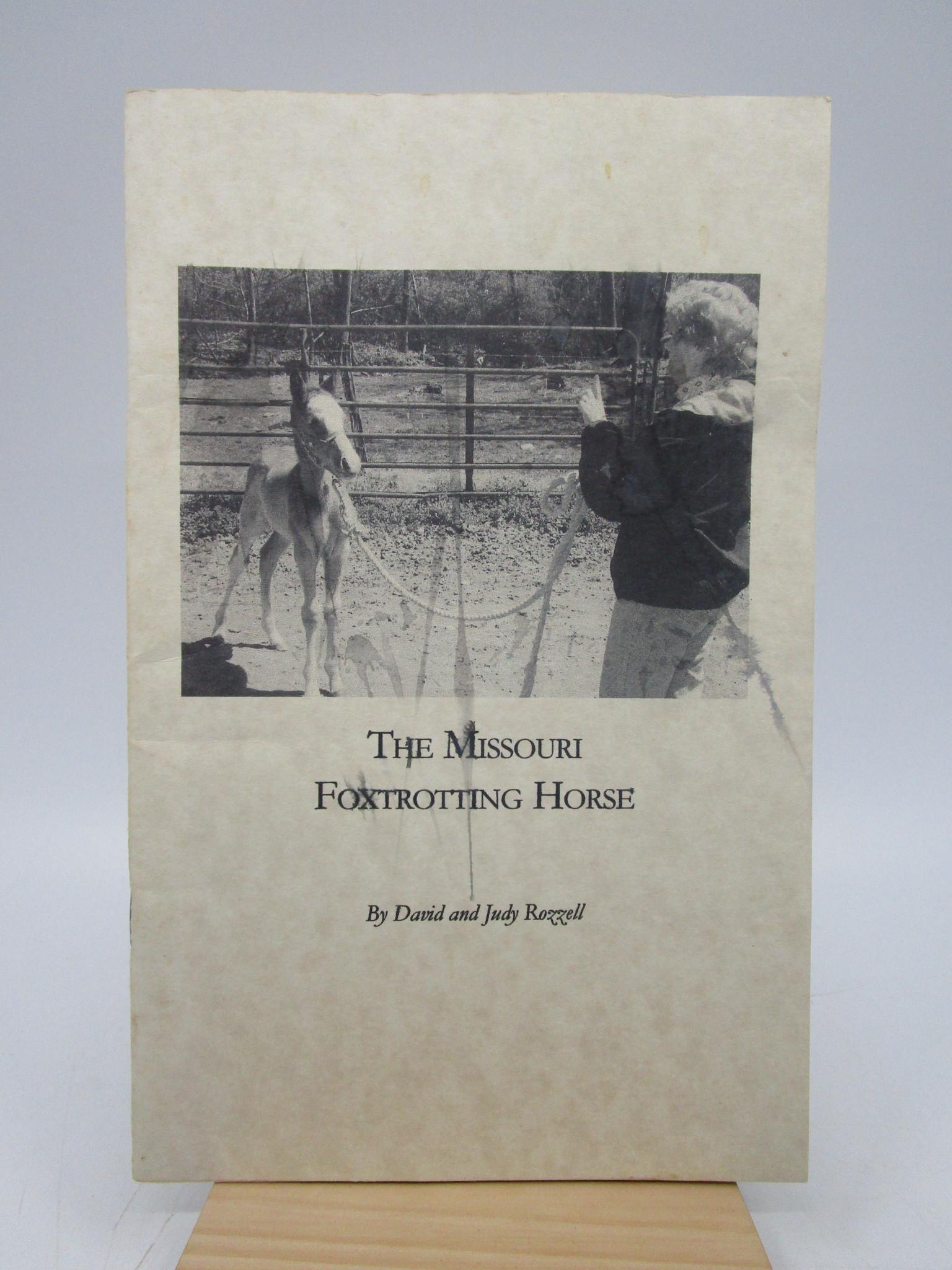 Image for The Missouri Foxtrotting Horse