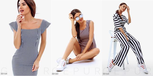 женская одежда в полоску фото