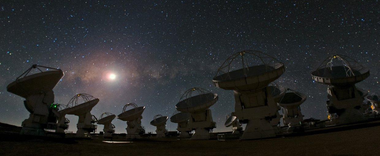 Atacama Çölü'ndeki teleskoplar