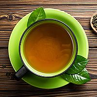 Kawa i zielona herbata