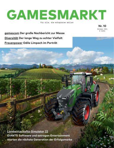 Cover: GamesMarkt Magazin No 10 Oktober 2021
