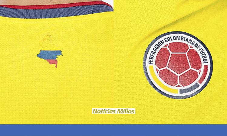 Camiseta Colombia 2021