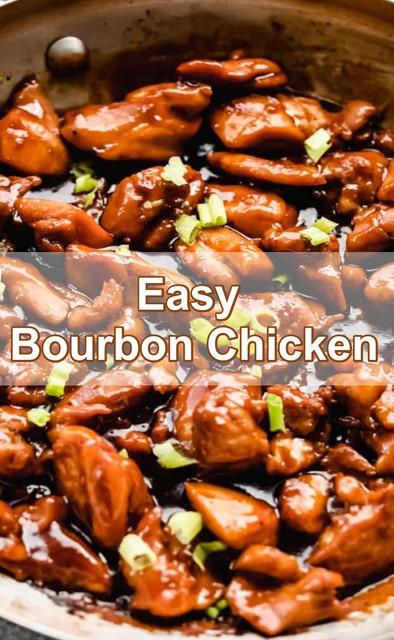Easy Bourbon Chicken