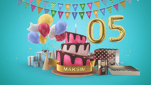 Happy Birthday 33557250 - Project for After Effects (Videohive)