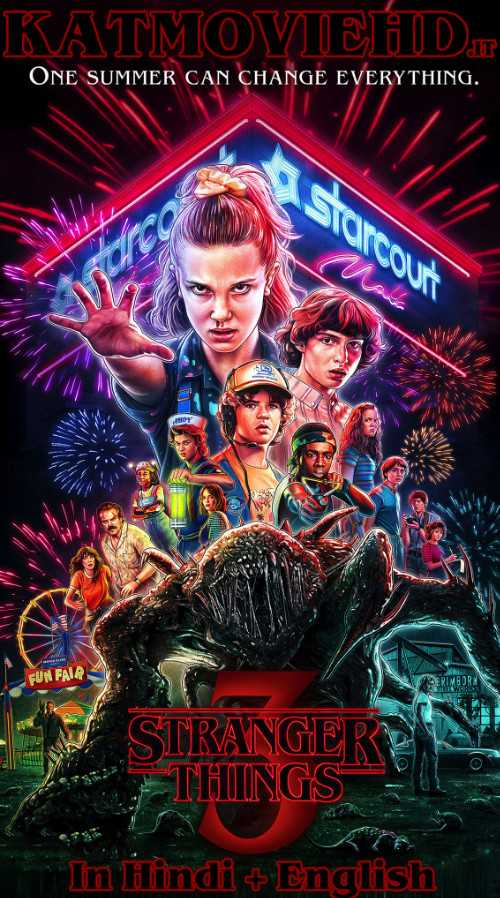 Stranger Things S03 Season 3 Complete (In Hindi) Dual Audio | HDRip