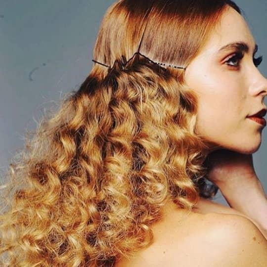 Golden Strawberry Blonde-strawberry-styled-hair