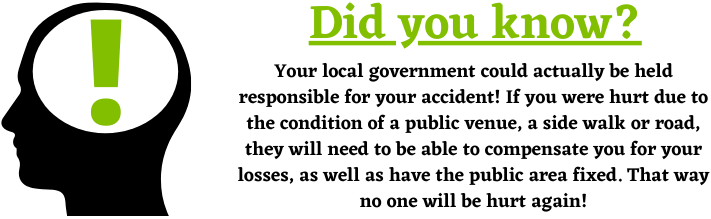 Local government and public injury claims