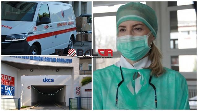 KCUS: U Sarajevu ponovo veliki broj zaraženih, tri pacijenta umrla