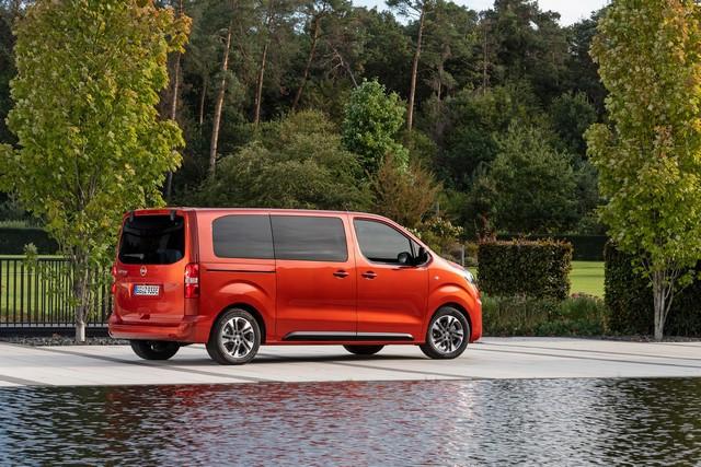 De l'électricité dans l'air : l'Opel Zafira-e Life tout électrique en vente à partir de 51 500 euros bonus environnemental déduit Opel-Zafira-e-512828